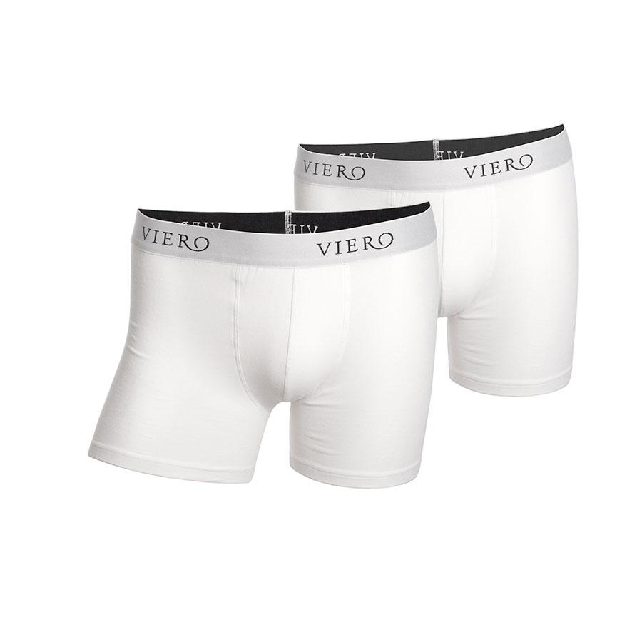 Hvit boxershorts, Viero Milano MODAL