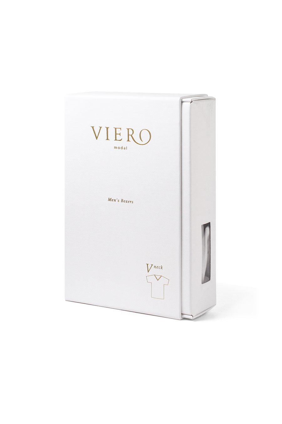 White tshirt in micromodal from Viero Milano
