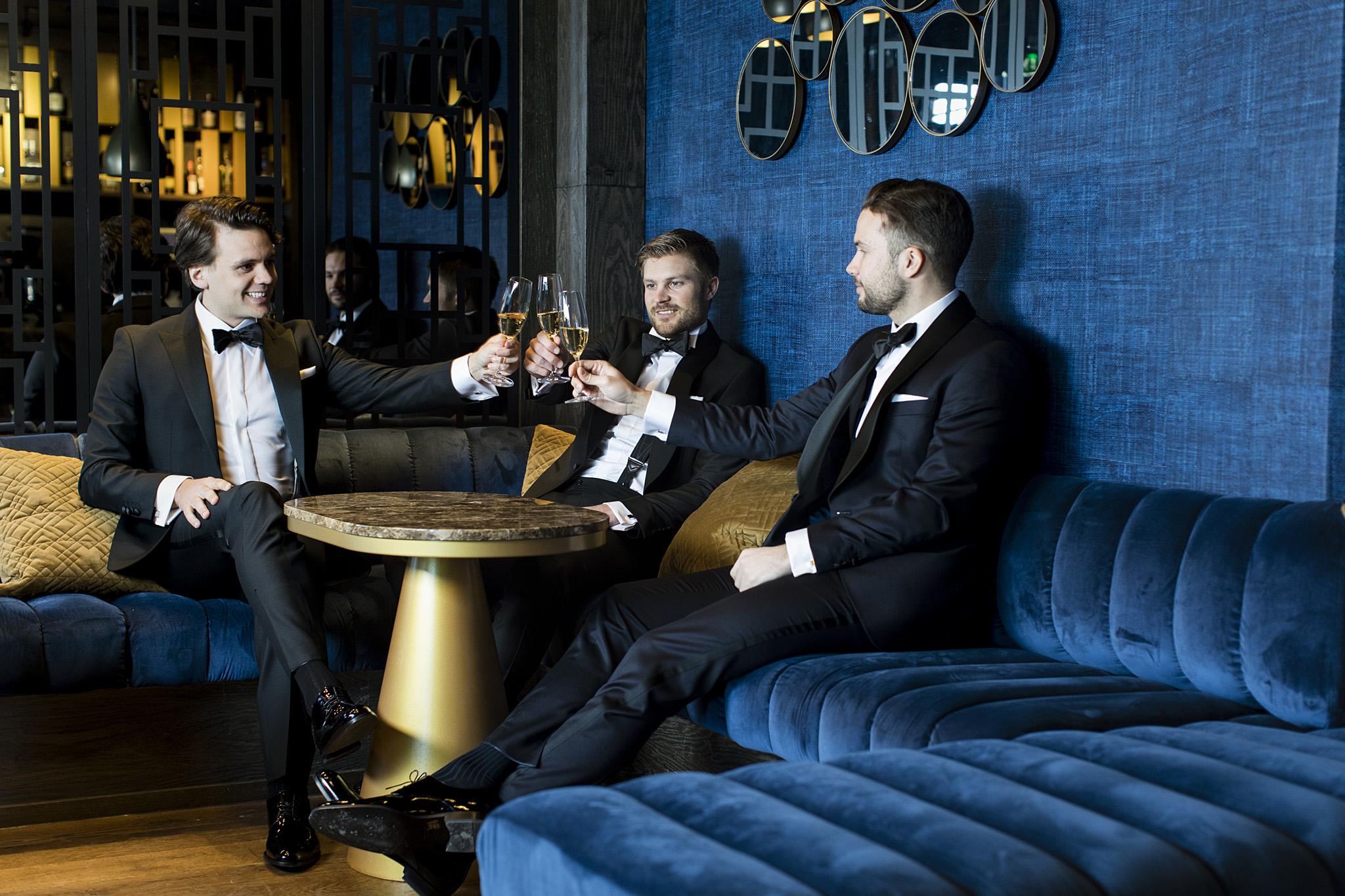 Smoking til bryllup hos Menswear Hegdehaugsveien/Bogstadveien Oslo
