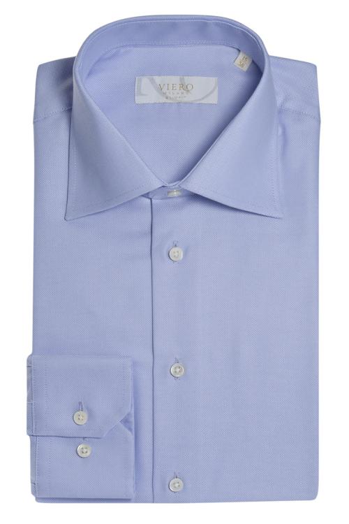 lyseblå Oxford skjorte