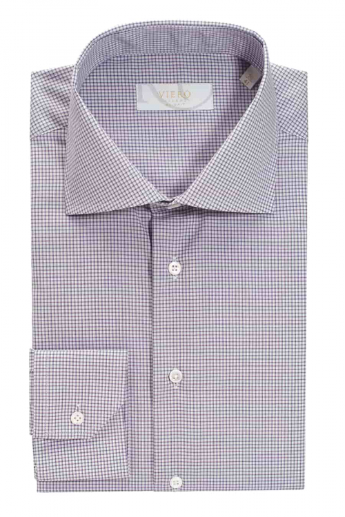 slimfit skjorte lilla