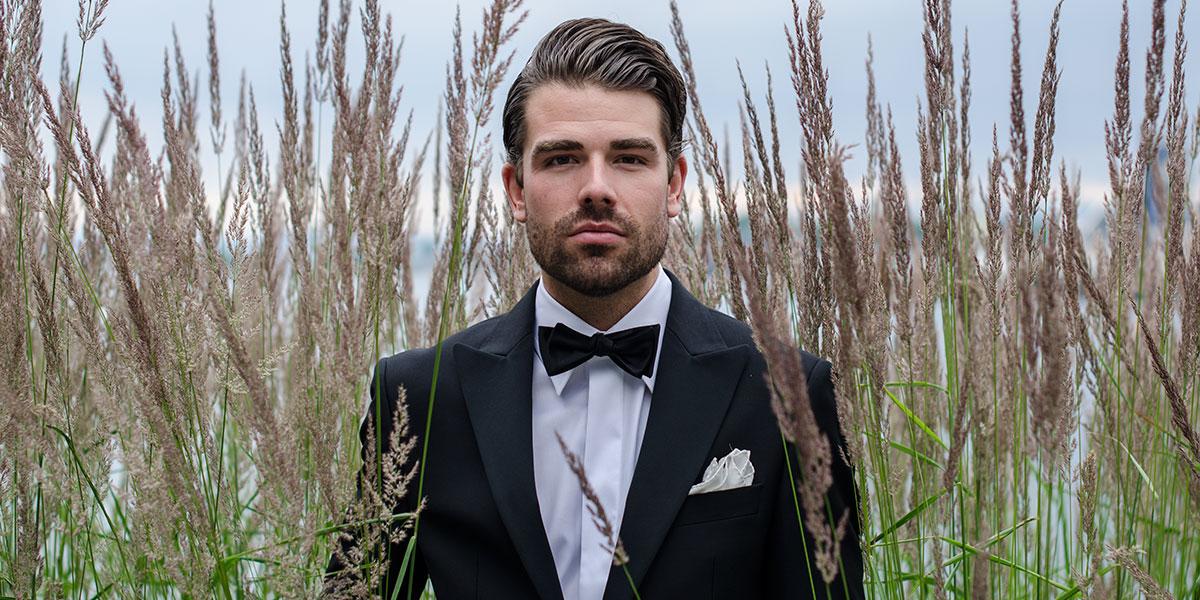 Smoking til bryllup fra Viero Milano tilgjengelig i Oslo og Trondheim.