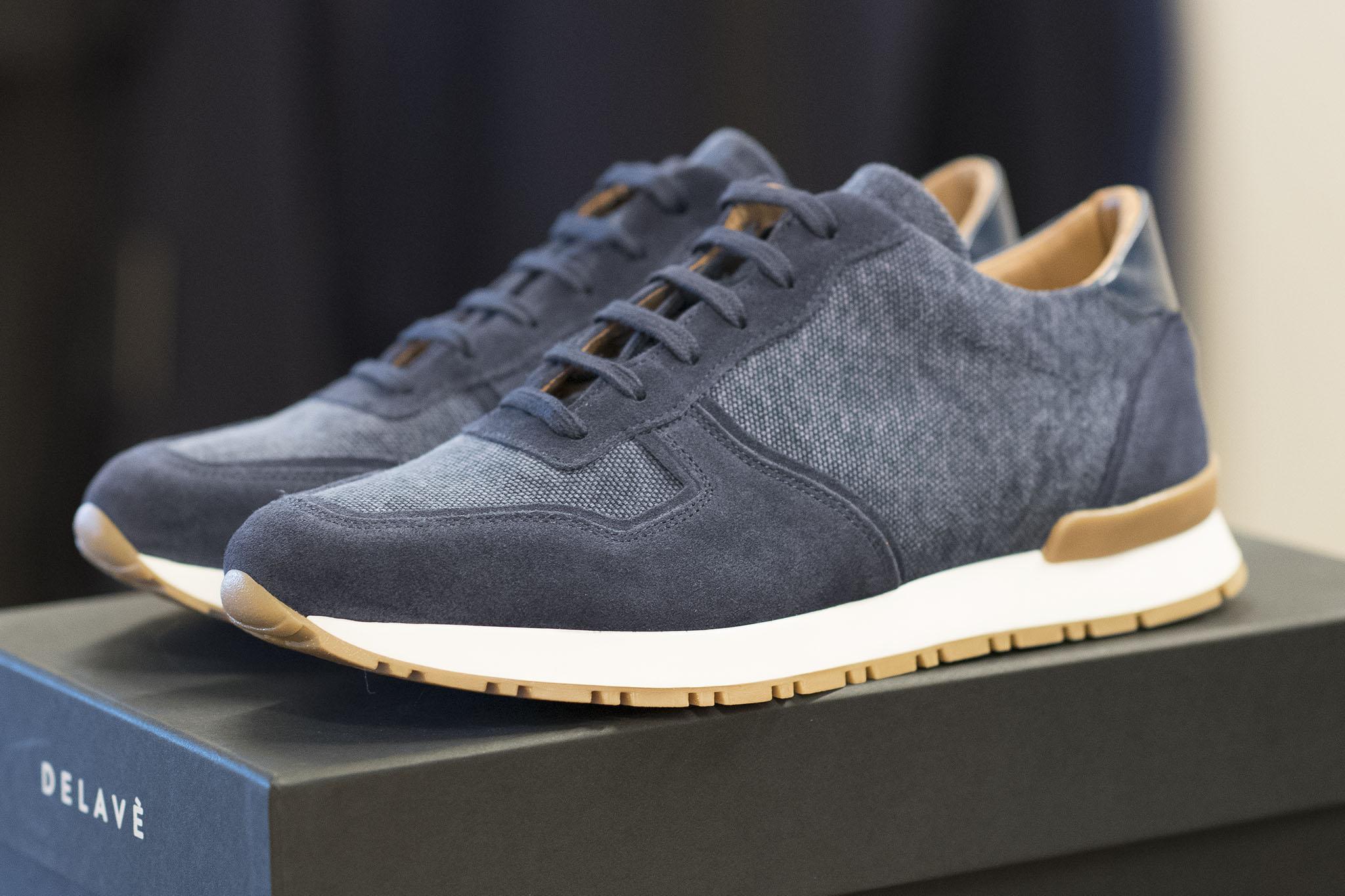 Sneakers fra Delave finner du hos Menswear Hegdehaugsveien, Tjuvholmen, Lysaker og Trondheim