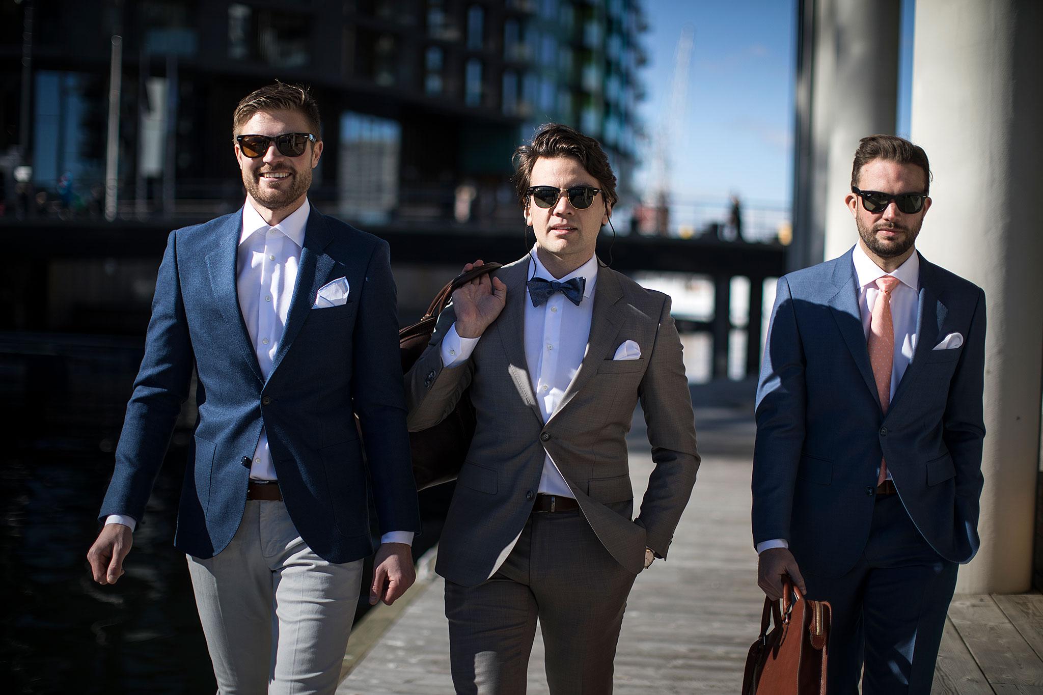 Dress til 17 mai, bryllup og jobb. Menswear Oslo og Trondheim.