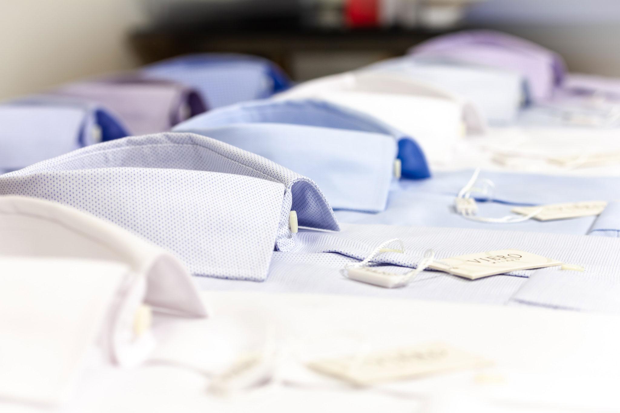 Jobbskjorter fra Viero Milano finner du hos Menswear