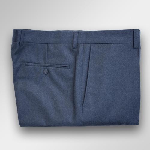 Koksgrå flanellbukse