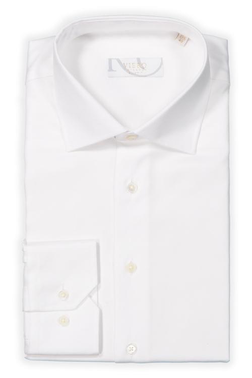 Hvit oxford skjorte