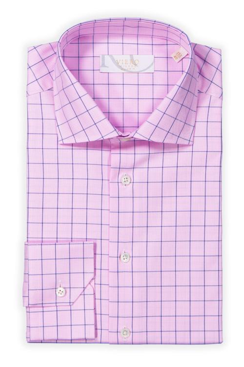 Rosa skjorte til herre