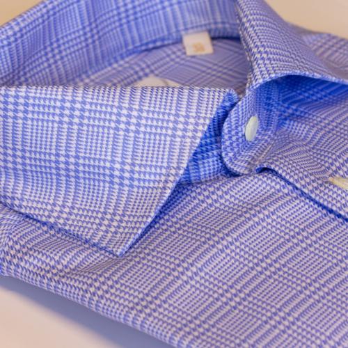 B476 Viero Milano skjorte med ruter