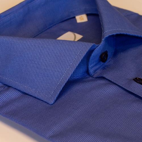 Mellomblå skjorte fra Viero Milano