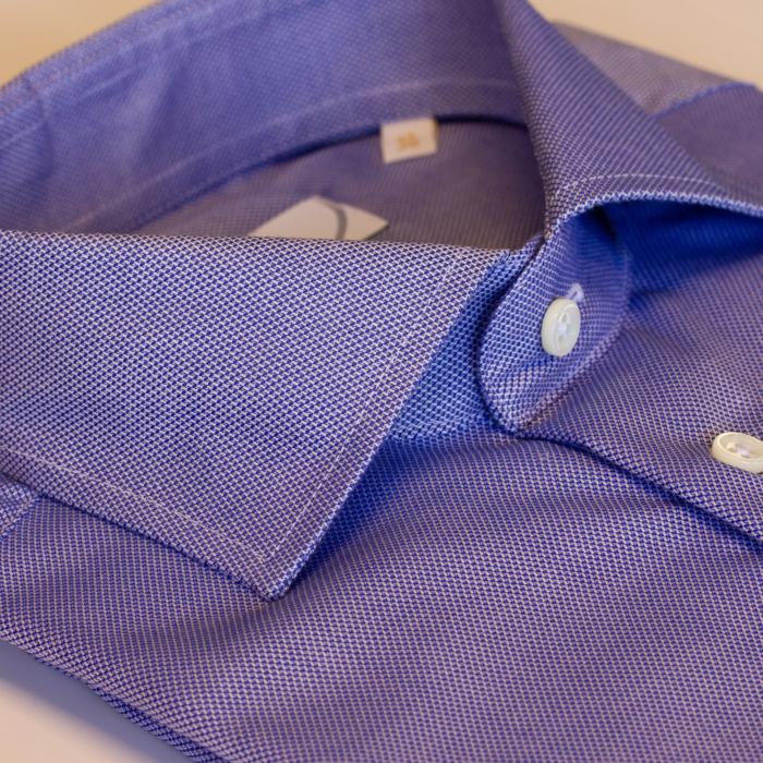 Blå herreskjorte fra Viero Milano