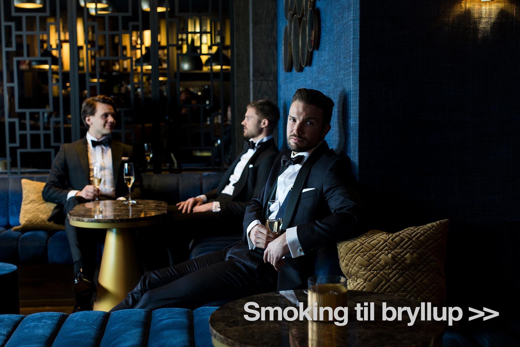 Smoking til bryllup fra Menswear