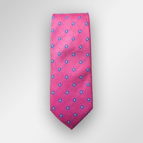 Rosa slips i silke.