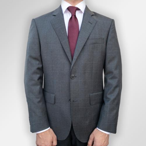 Grå dress med ruter fra Menswear Tjuvholmen