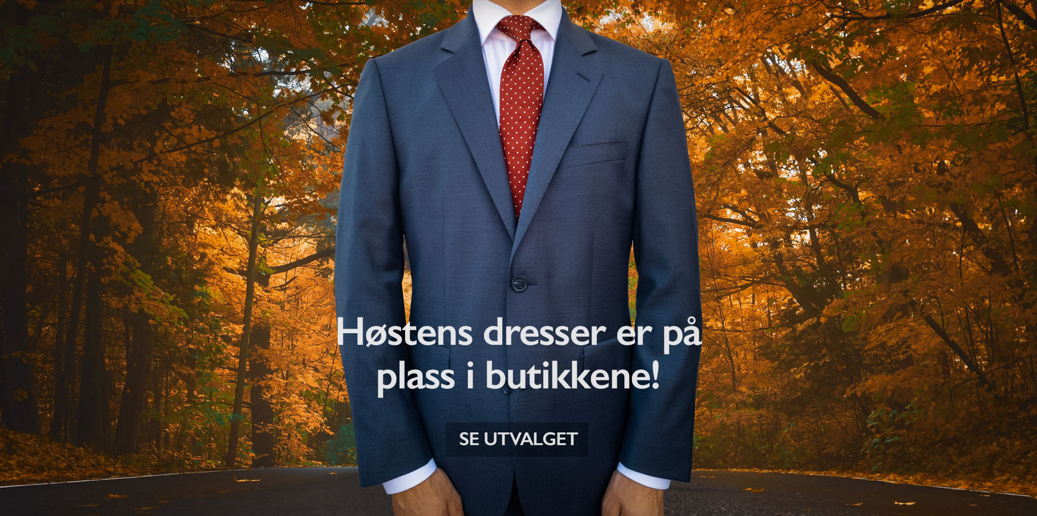 Dress for menn i Oslo.