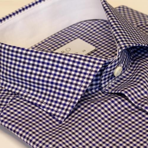 Rutete skjorte i slimfit. Menswear Oslo