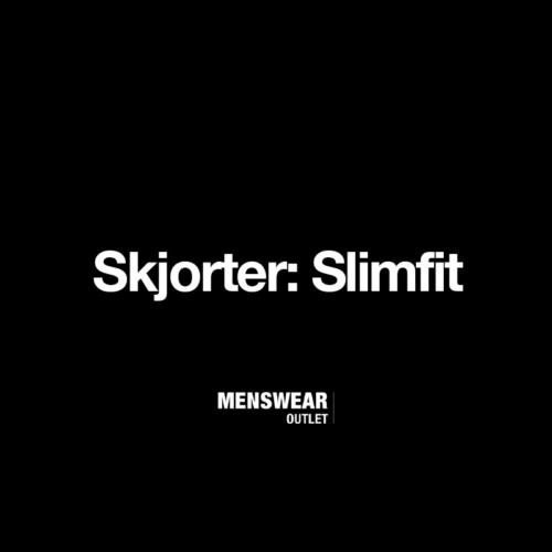 Outlet Slimfit skjorter